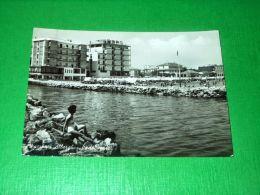 Cartolina Viserba - Alberghi Visti Dal Mare 1963 - Rimini