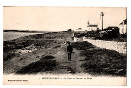 56 - PORT-NAVALO . Le Phare Et L'entrée Du Golfe - Réf. N°3354 - - Autres Communes
