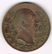 Old Rare Medal 10th May 1901 Otto Von Bismarck. Bismarcksäule In Gera, German Empire, Reich, Iron Chancellor. - Royal/Of Nobility