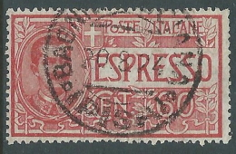 1922 REGNO USATO ESPRESSO 60 CENT - R9-9 - Eilsendung (Eilpost)