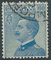 1923 REGNO USATO EFFIGIE 60 CENT - R8-5 - Usati