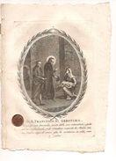 $3-5523 Incisione Morghen 1809 Beato Francesco Da Geronimo - Miniature
