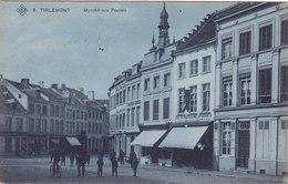 Tienen - Tirlemont - Marché Aux Poulets (animation, SBP, 1907) - Tienen