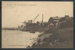 +++ CPA - BURCHT - De Cimentfabriek En Scheldezicht  // - Zwijndrecht