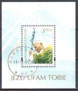 Poland  2005 - Pope John Paul II - Mi M/s 162 - Used - Blocs & Hojas