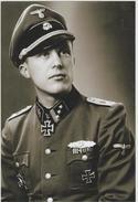 Militaria WW2 - Portrait D'un Officier SS - 1939-45