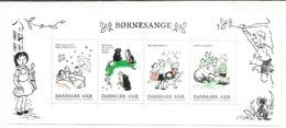 Chansons Pour Enfants, Elfes & Loups-garous. Un Bloc-feullet 2016  Neuf ** - Danemark