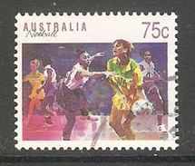 005114 Australia 1991 Sports 75c FU - Used Stamps