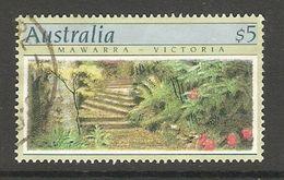 005118 Australia 1989 $5 FU Perf 13.5 - Used Stamps