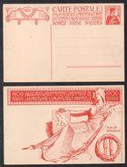 SUISSE - UPU  / 1909 ENTIER POSTAL ILLUSTRE (ref 5496) - Entiers Postaux