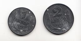 WWII , SERBIA 1942 ,1 DINAR AND 2 DINARA - Serbie