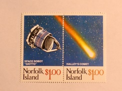 ILE NORFOLK  1986   LOT# 2  HALLEY'S COMET - Ile Norfolk
