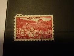 ANDORRE  Stamp - Andorre Français