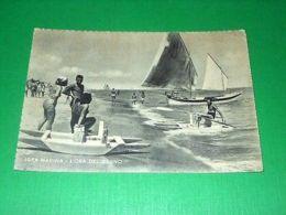 Cartolina Igea Marina - L' Ora Del Bagno 1955 - Rimini