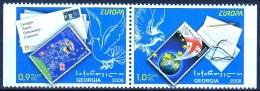 Georgien MiNr. 560/61 D ** Europa: Der Brief - Georgien