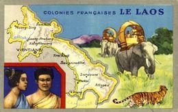 LAOS / COLONIES FRANCAISE / A 28 - Laos