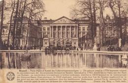 Brussel, Bruxelles, Natie Paleis Of Kamer Der Volksvertegenwoordigers (pk37079) - Monumenten, Gebouwen