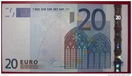 20 EURO  G013D2 Slovenia Serie H  Perfect UNC - 20 Euro