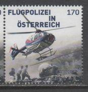 AUSTRIA, 2016, MNH, HELICOPTERS, POLICE, 1v - Police - Gendarmerie