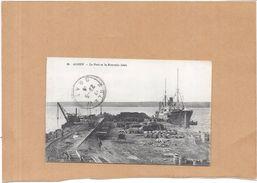 ARZEW - ALGERIE - Le Port Et La Nouvelle Jetée  - ENCH2306 - - Algerije