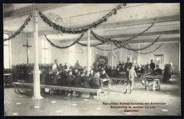 BERLAAR - BERLAER - Katholieke School Kolonies Van Antwerpen - Speelzaal - Circulé - Circulated - Gelaufen - 1914 - Berlaar