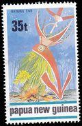 Papua New Guinea Scott # 722, 35t  Multicolored (1989) Traditional Dance, Used - Papua New Guinea