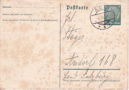 Deutsches Reich - Postkarte 1938 - Stempel Ach (29422) - Alemania