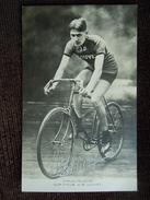 Charles Pélissier Sur Cycle J.B  LOUVET - Cyclisme