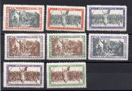 Lot De 8 Vignettes Sur La Marseillaise, époque Guerre 1914/18 - 1914-18