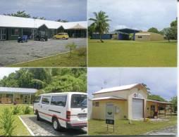 1 X Cocos (Keeling) Islands - Home Island Buildings - School, Fire, Hospital Etc - Christmas Island