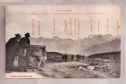 CPA - Les Pyrénées - Luchon (31) - 751. Plateau De Superbagnères - La Table D'Orientation - Luchon