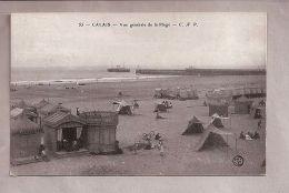 CPA - Calais (62) - 55. Vue Générale De La Plage - Calais