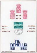 Gemeenschappelijke Uitgifte Met Nederland En Luxemburg / A5 Kaart  / 07-09-1974 - FDC