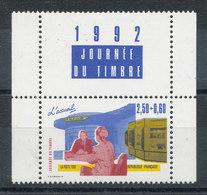 2744** Journée Du Timbre Avec Vignette 1992 - France