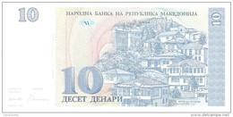 Macedonia - Pick 9 - 10 Denari 1993 - Unc - Macédoine