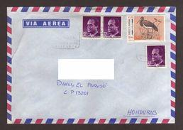 Spain, Cover Circulated From Alicante-Danli With Stamps Black Stork (AMERICA UPAEP), King Juan Carlos, 1994 - 1931-Tegenwoordig: 2de Rep. - ...Juan Carlos I