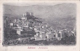 Carte Postale :Subiaco  (Italie) ,     Panorama - Italia