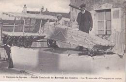 Carte Postale :  Oucques (41) Grande Cavalcade  ... La Traversée De Oucques En Avion (char)    Ed Lenormand - Other Municipalities