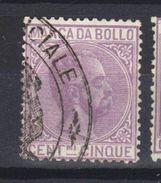 ITALIE  Revenue    Fiscal Marche Da Bollo (1882) - Steuermarken