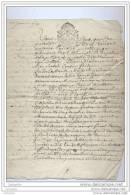 Acte De 1747 - Sentence Des Seigneurs De Villeneuve Sur Bellot (Brie) - Manuscritos