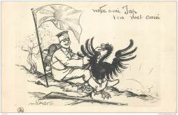 Carte Illustrée Par Radiguet - WW1 - Notre Ami Jap S'en Met Aussi - Japan Against Germany 1914 - War 1914-18