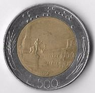 Italy 1987 500 Lire (1) [C488/2D] - 1946-… : Republic
