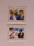 BAHAMAS  1981  L0T#21  ROYAL WEDDING - Bahamas (1973-...)
