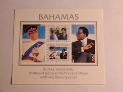 BAHAMAS  1981  L0T# 21  S/S ROYAL WEDDING - Bahamas (1973-...)