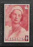 Belgium 1935, TB Fund Stamps, 1fr + 25c, MH * - Belgium