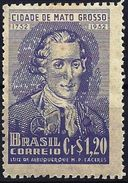 Brazil 1952 - Governor Luis De Albuquerque ( Mi 784 - YT 512 ) MH* - Brasilien