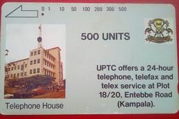 Uganda Phonecard 500 Units Tamura - Uganda
