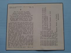 DP Maria STESSENS ( Henricus NUYTS ) Oud-Turnhout 16 Juli 1895 - 30 Aug 1957 ( Zie Foto's ) ! - Avvisi Di Necrologio