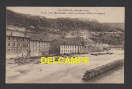DF / 25 DOUBS / PONT DE ROIDE / LE DOUBS ET L'USINE PEUGEOT / CIRCULÉE EN 1919 - Otros Municipios