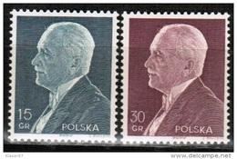 PL 1938 MI 324-25 ** - Unused Stamps
